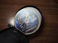 leather cd case with games/ PS2/PS1