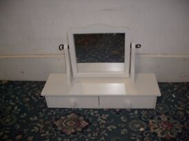White Mirror with Drawers ID 74/11/17