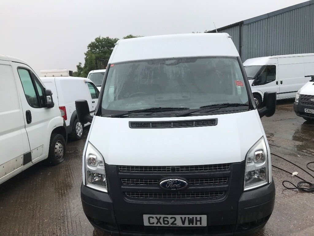 2a10641fad6dfc ford transit mwb fridge van.2012.one owner.64k miles.6 speed.ready for work.