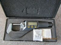 Electronic external digital micrometre 0-25mm