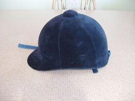 Child's Navy Riding Hat