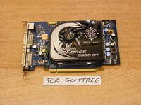 BFG (nVidia) 8600GT 512MB GDDR3 graphics card for sale.