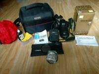 Nikon d3300 with 55-200 lens 446 shutter count