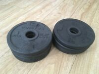 8x 1kg Weight Plates