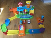 VTech Toot Toot Garage, cars and tracks (47 assorted tracks)