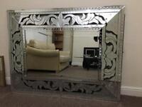 Large Designer Mirror