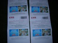 4 x Chessington Tickets