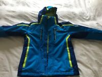 Fab 12-13 yr old boy's full ski suit, helmet, goggles & gloves