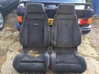 Ford Fiesta escort Rs turbo recaro front seats only £150 no offers