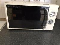 RUSSEL HOBBS MICROWAVE & morphy richards toaster