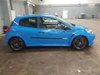 Renault clio sport 200 Cup, 2.0 2010 plate