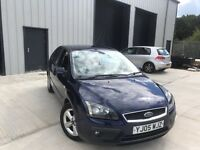2005 Ford Focus 1.6 Zetec, Low Mileage, Long MOT