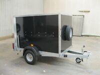 New Tickner ECO Box trailer 6x4x4ft