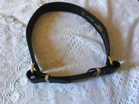 Topshop ladies belt black size M/L brand new £3