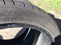 Michelin tyre 225 40 18