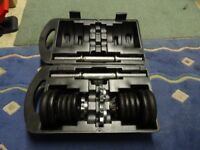 20kg Cast Dumbbell Box Set (Amazing Condition)