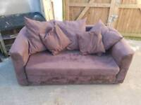 *FREE* Sofa bed with cushions