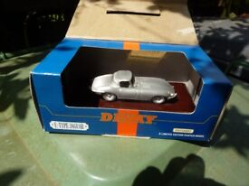 Dinky E type pewter model