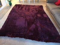 Stepevi - luxurious purple rug