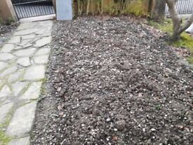 Free soil, ex flowerbed