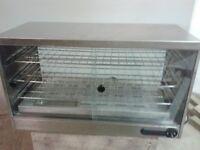 Parry Heated Pie Cabinet - Sliding door 3 shelf