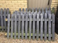 Picket fencing (used) very good condition
