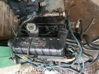 Ford transit mrk 6 van 2.0 fwd 5 speed t260 100 bhp diesel engine