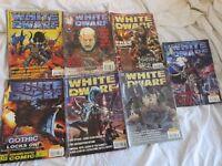 7 White Dwarf Games Workshop Books issues 230 232 233 234 236 237 238