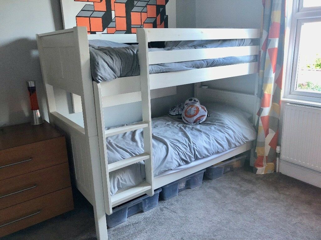 Bunk Beds White Solid Wood In Richmond London Gumtree