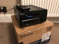 Denon RCD M39 DAB & Denon SC-F102 Speakers
