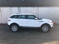 White Range Rover Evoque SD4 2.2 4x4 Full Land Rover service history £23000 ovno.