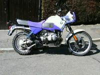 BMW R100 GSPD FOR SALE / PART EXCHANGE / SWAP HARLEY DAVIDSON / TRIUMPH T140 ETC..