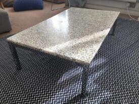 Habitat coffee table stones in resin - rare