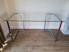 Large Glass Desk