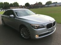 BMW 7 SERIES 730LD LIMOUSINE 2011 (61) AUTO FULL BMW HISTORY NEW MOT TOP SPEC...