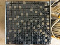 Metalic Mosaic Tiles SS-003 Midnight Johnson Tiles - Brand New - 7 Boxes