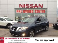2014 Nissan Pathfinder SL TECH, Navi, Leather, 1 Owner, immacula