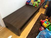TV bench / Console Bench IKEA dark brown