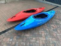 Two Dagger Redline Kayak's