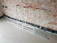 Dabbling Bars for laying screed floors.