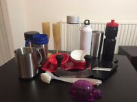 Kitchen Bundle - Glasses, bowls, bottles, grater, washing up brush and more