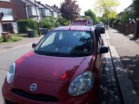 Special offer for automatic driving lessons, 5 hours for £90.
