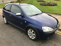 2002 Vauxhall Corsa 1.2 sxi 3 Door Good Condition *CHEAP* Fiesta Clio Micra Aygo Polo