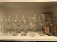 Wine and other glasses