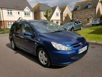 2003 Peugeot 307 Sw 7 seater excellent condition