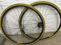 Campagnolo omega wheel set