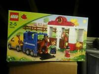Lego Duplo Horse Box and Stables set 5648
