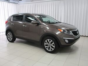2014 Kia Sportage EX SUV. HURRY IN FOR A TEST DRIVE !!  BACK-UP