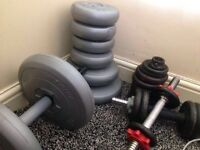 Gym equipment - weights