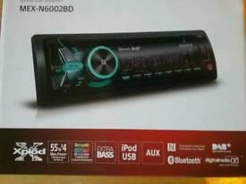 Sony MEX-N6002BD DAB/DAB+ Radio CD MP3 Receiver Bluetooth USB IPhone Android